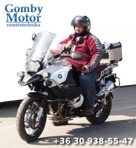 Szegedi motoros vezetéstechnikai képzés